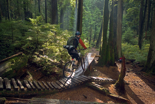 mountain biking north vancouver